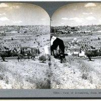 View of Jerusalem, from Mount of Olives, Palestine.jpg
