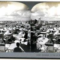 Jerusalem, A City of Domes, Palestine.jpg
