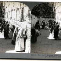 The Jews' Waiting Place--Outer Wall of the Temple, Jerusalem, Palestine.jpg